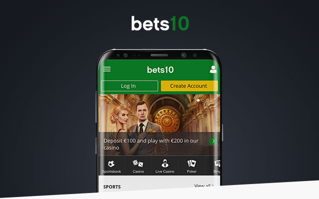 Bets10 Mobil